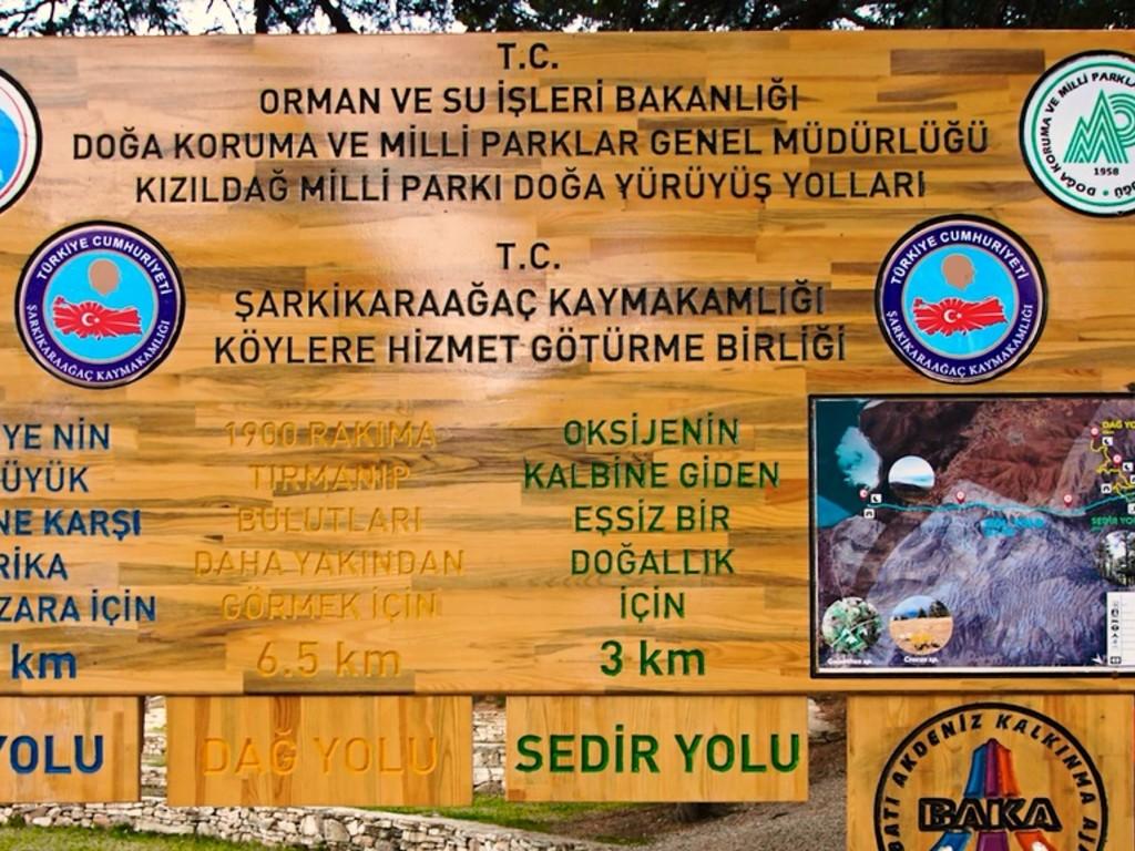 Kızıldağ Milli Parkı - Yürüyüş Yollarımız