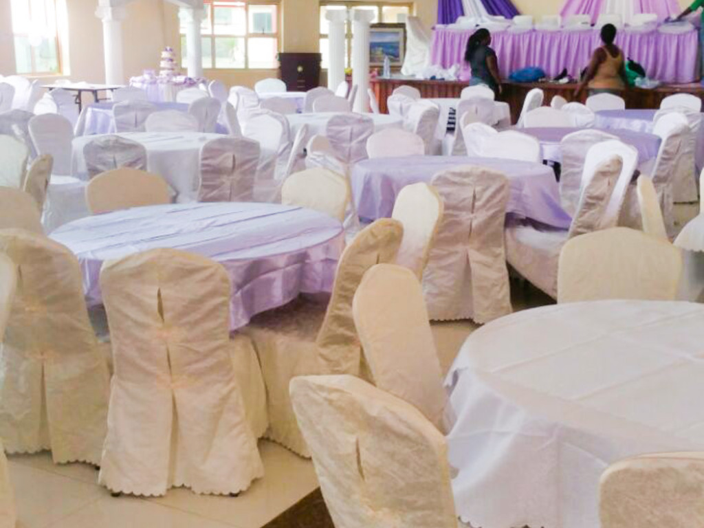 Our conference hall is well suitable for most glamorous wedding parties