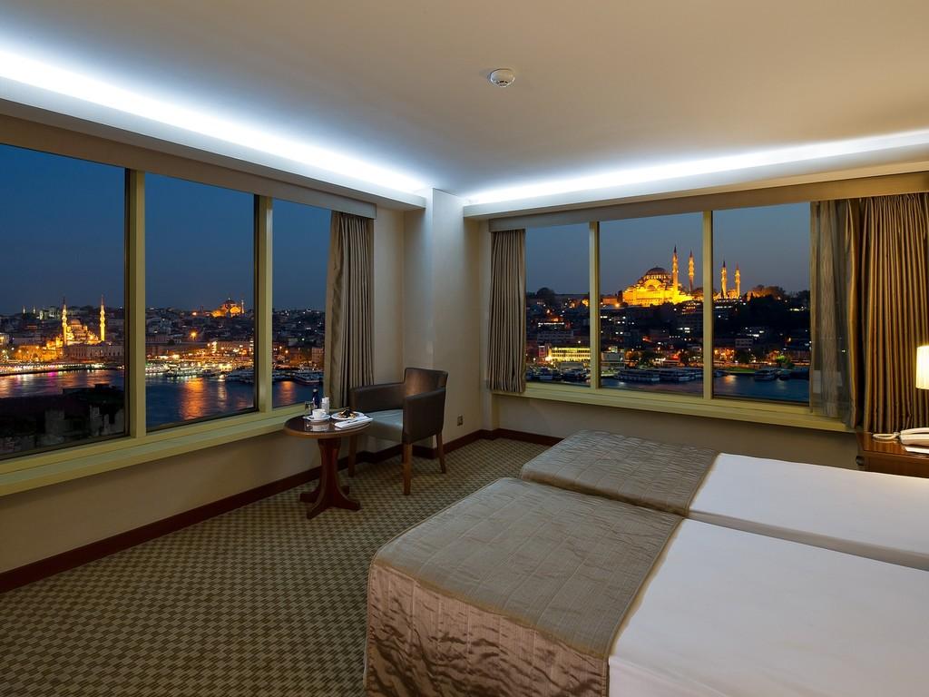 Panoramablick Zimmer