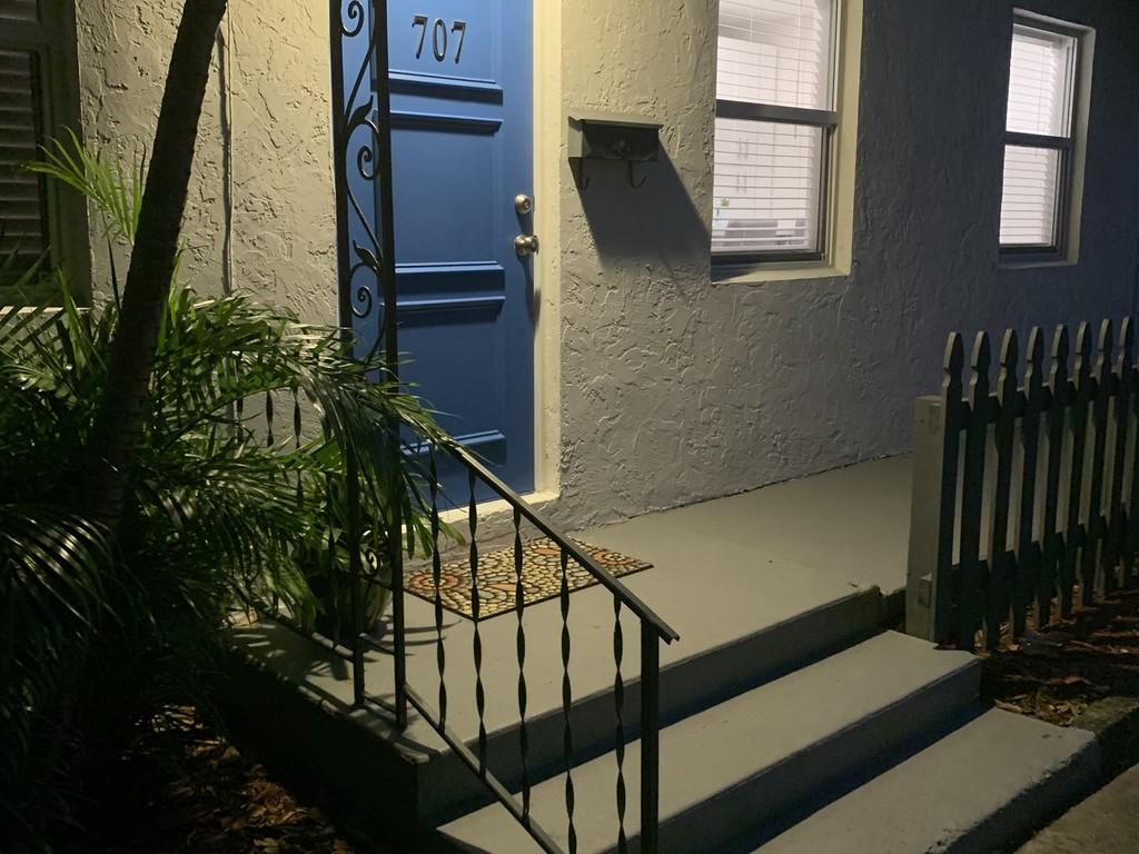 Entrance w Evening Lighting