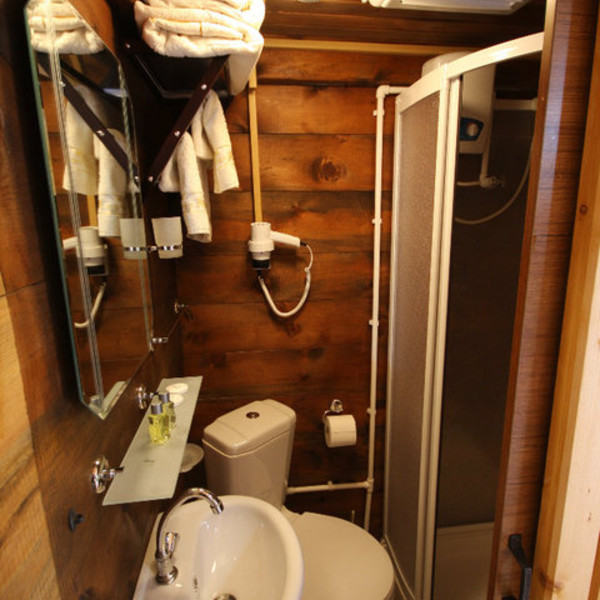 Çift kişilik bungalow oda